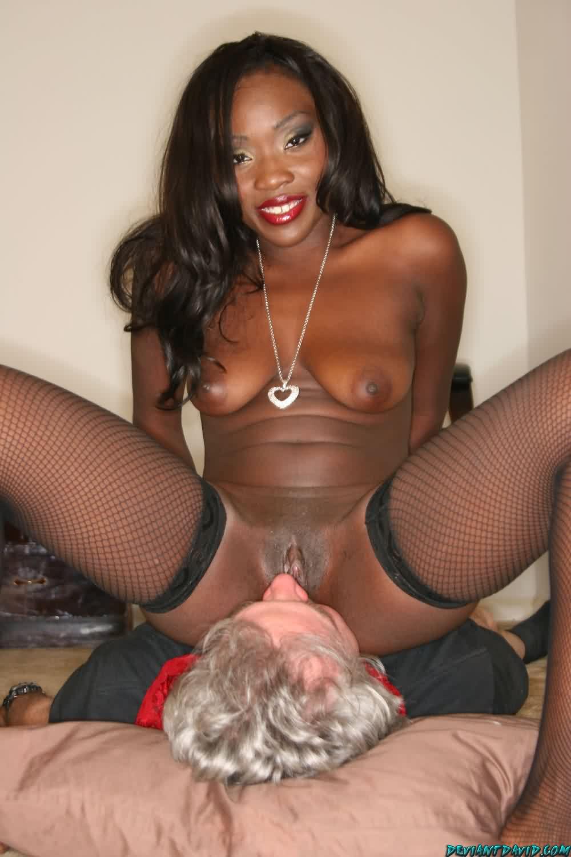 Mean black mistress