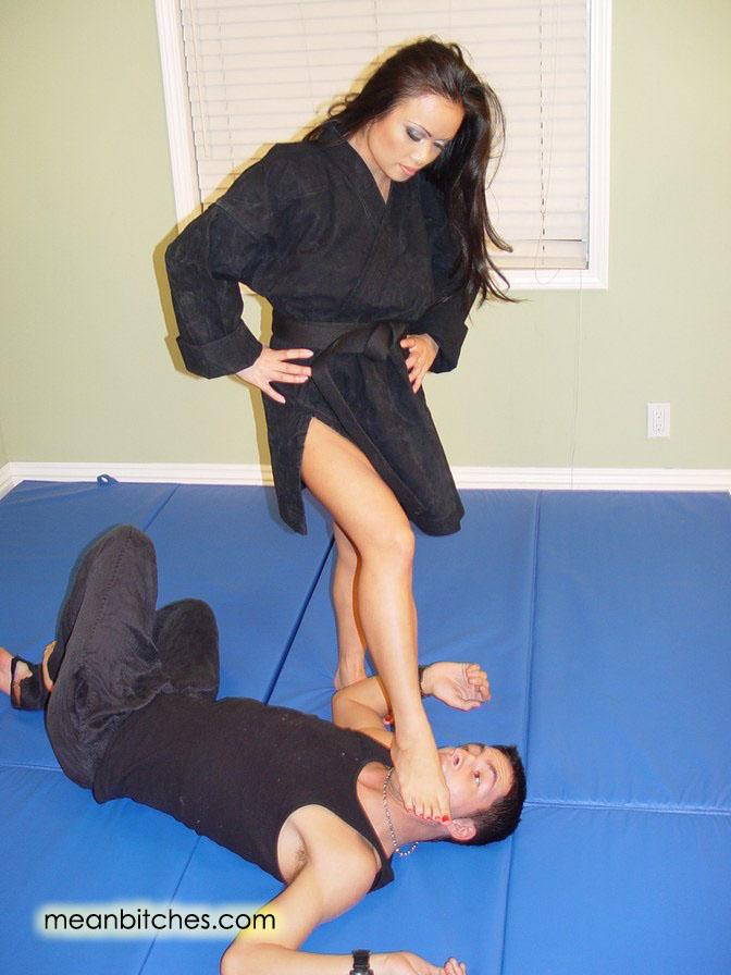 Femdom martial arts